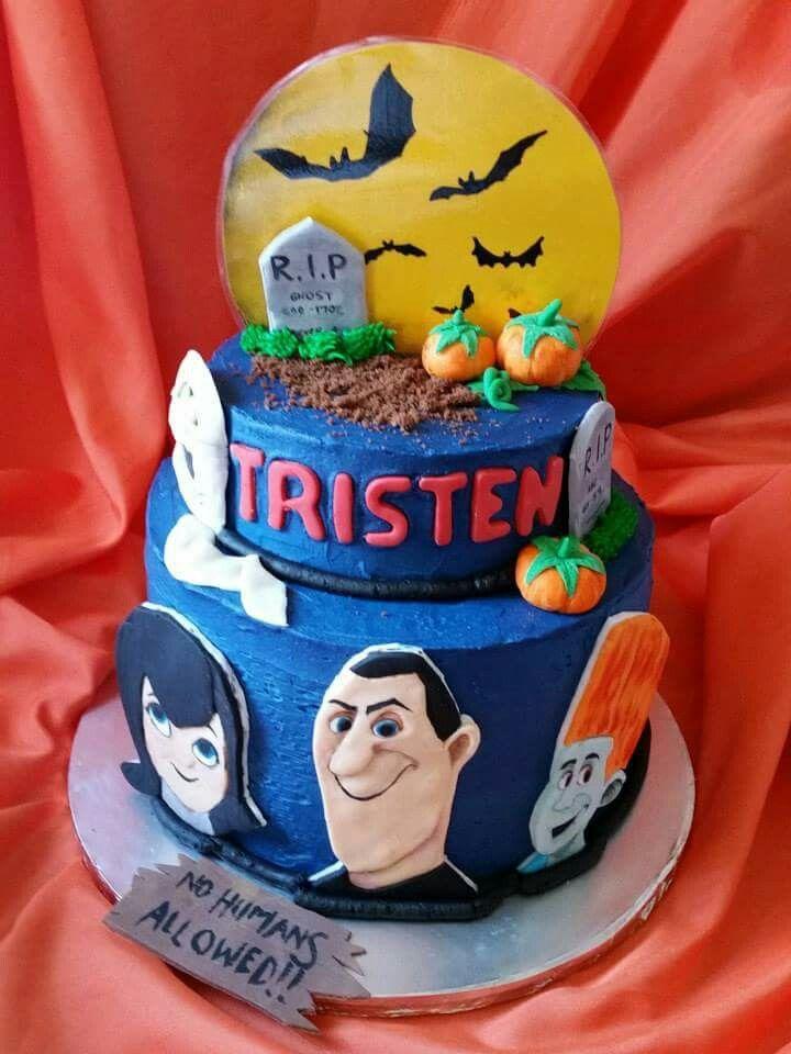 Hotel Transylvania Birthday Cake.