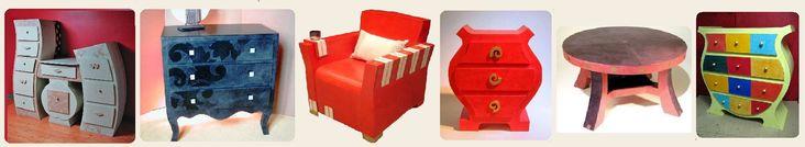 Kurs Online Internet Karton Möbel-Design - Möbel-Design Karton