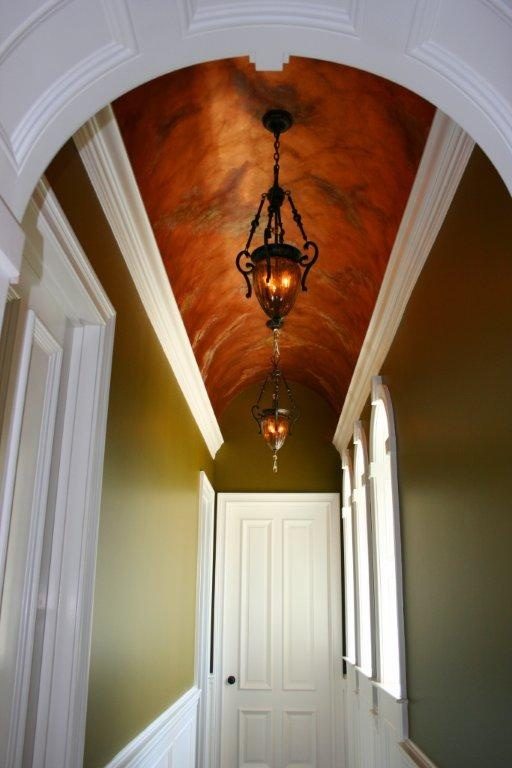 Barrel ceiling designed and built by waugh custom homes for Barrel ceiling ideas