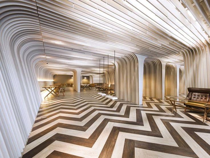 Bangkok University Unique Ceiling Interior Design