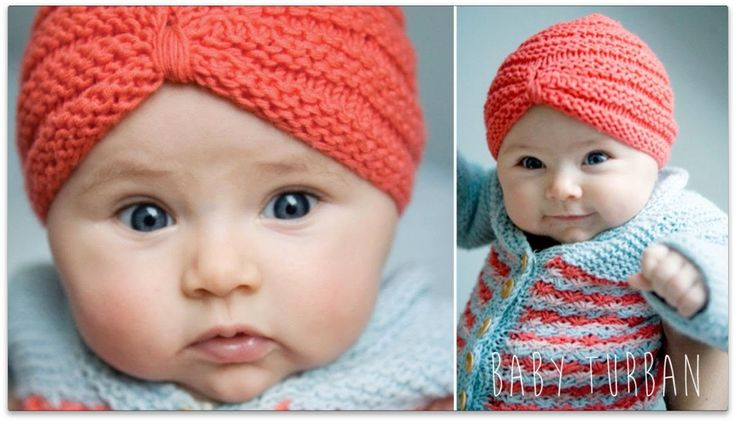 HOW TO KNIT - BABY TURBAN HAT