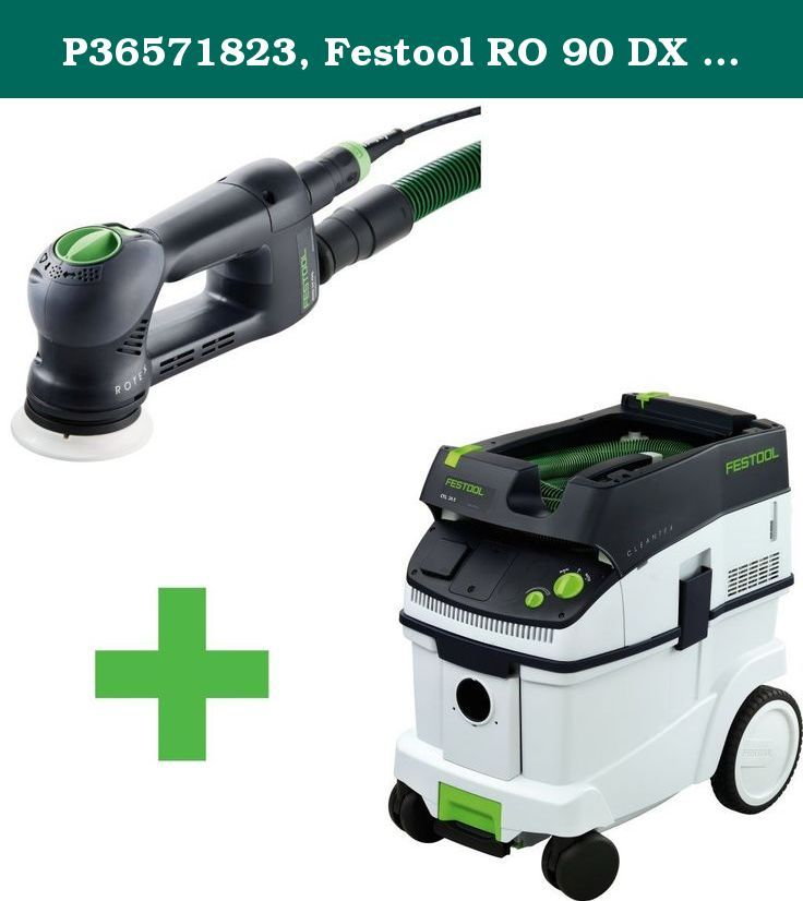 P36571823, Festool RO 90 DX Sander & CT 36 E Dust Extractor. Item# P36571823 Festool RO 90 DX Rotex Multi-mode Sander & CT 36 E Dust Extractor Festool RO 90 DX Rotex Multi-mode Sander The latest addition to the Rotex family, the RO 90 DX takes sanding versatility to a new levels, giving you four machines in one compact unit. Prepare to be blown away! The RO90 DX could easily become the most versatile tool in your shop. If you could only own one sander, the Festool Rotex multi-mode sander...