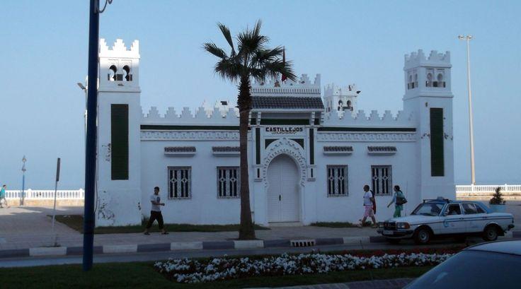 Fnidek Castillejos estación de ferrocarril de Tanger a Tetuán