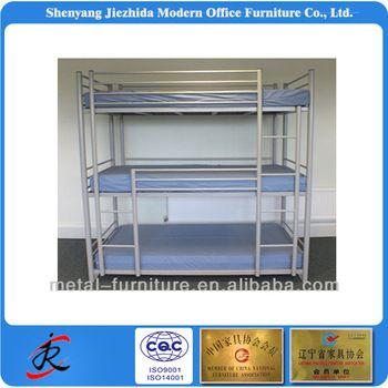 metal steel 3 tier bunk bedgood ladder system
