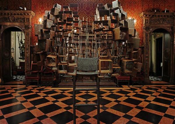 Library chair - Bagatti Valsecchi 2.0 http://www.chometemporary.it/2013/04/18/museo-bagatti_valsecchi-rossana_orlandi/