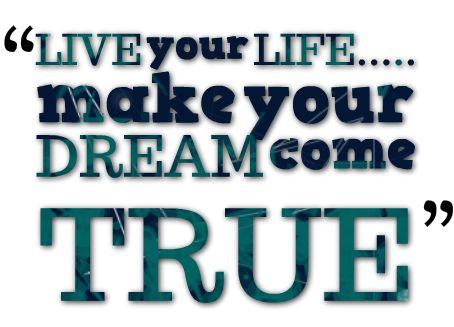 """""""Semua Mimpimu Akan Terwujud Asalkan Kamu Punya Keberanian Untuk Mengejarnya.""""…"""