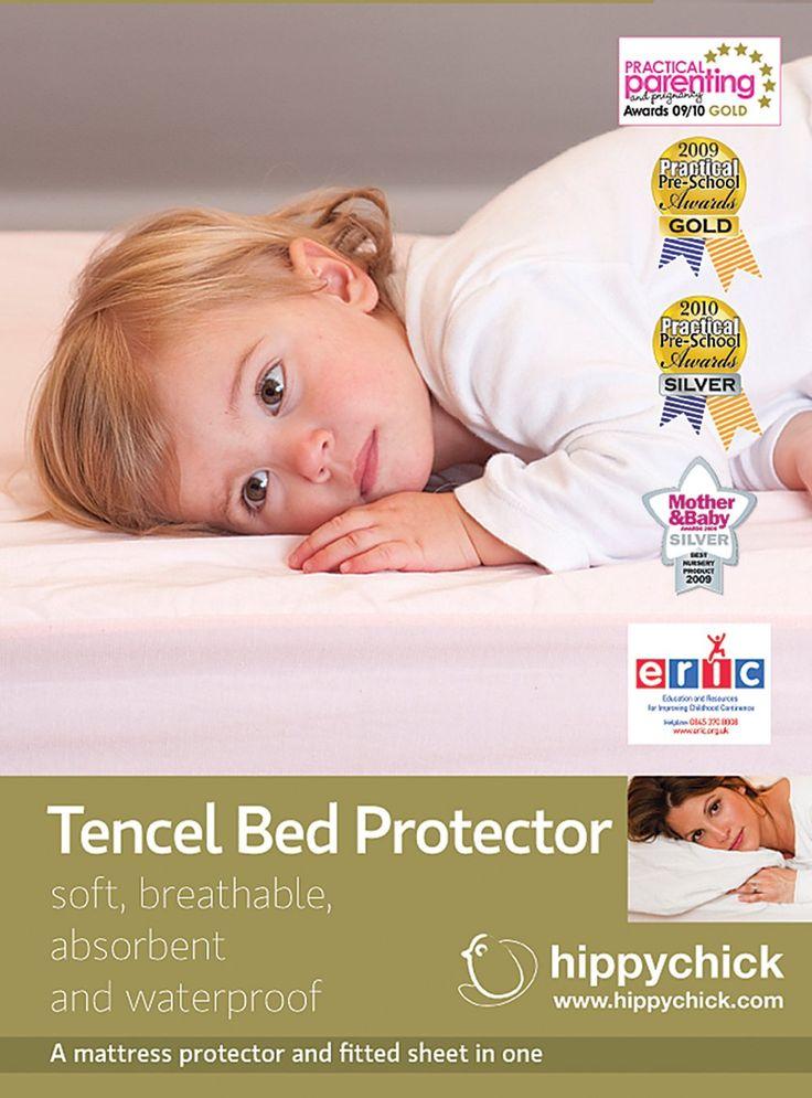 Hippy Tencel Ed Mattress Protector Cot Bed 70 X 140 Cm