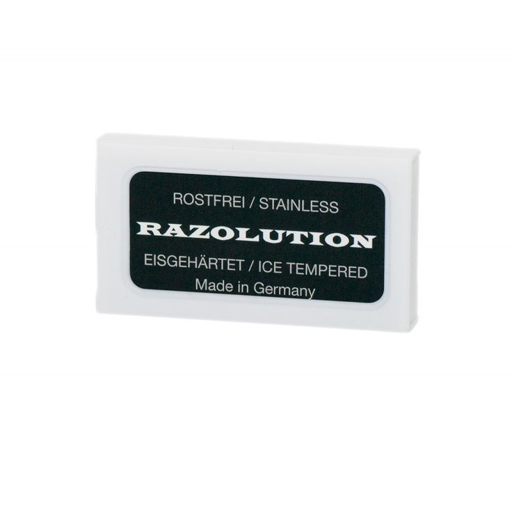 Razolution-partaterät - 10 kpl