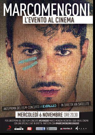 Marco Mengoni al cinema per un giorno con #PRONTOACORREREILVIAGGIO