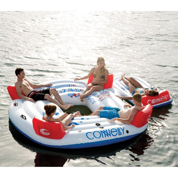 Connelly Dock King with 4-Person Lounge Tube - 67153286