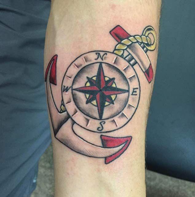 20 Ocean Nautical Star Tattoos Ideas And Designs