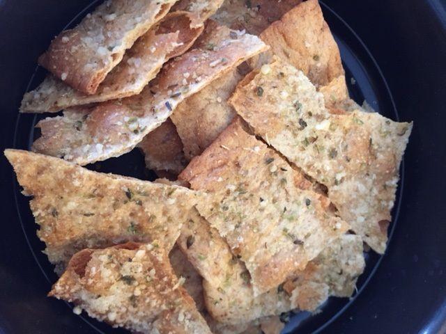 Parmesan Oregano Crackers THM FP