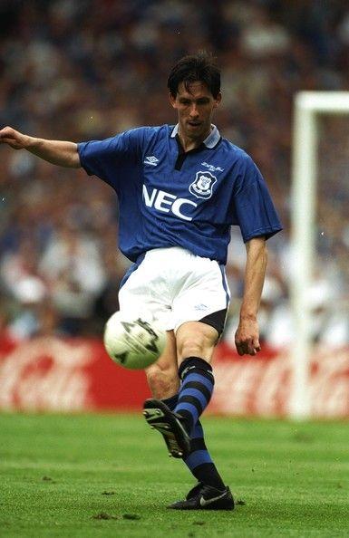 Gary Ablett of Everton in 1989