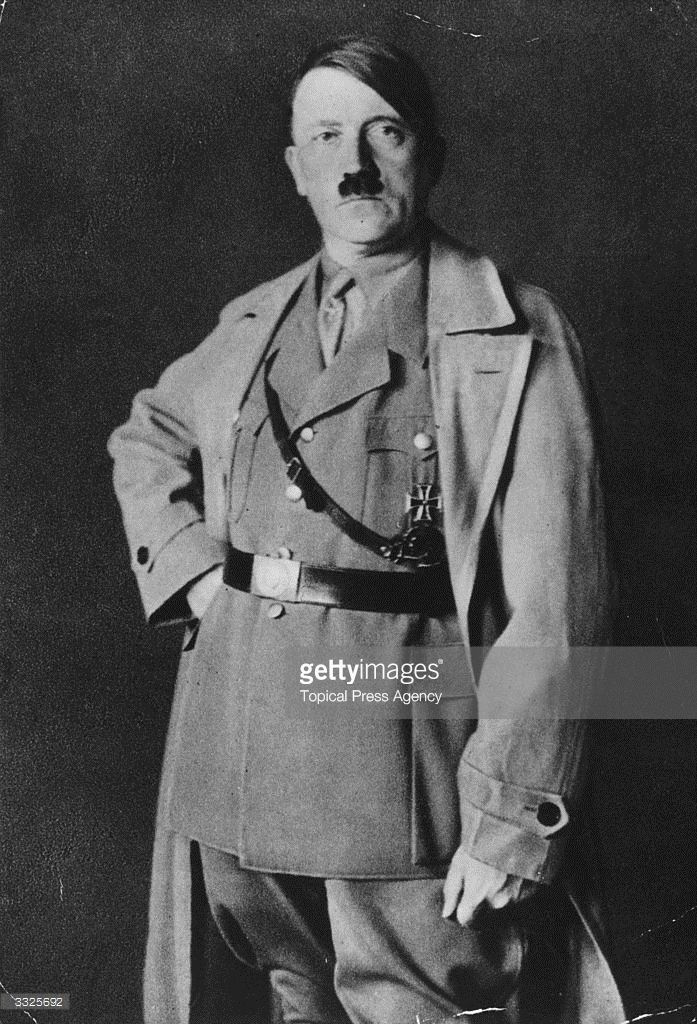 German political and government leader Adolf Hitler (1889 - 1945).