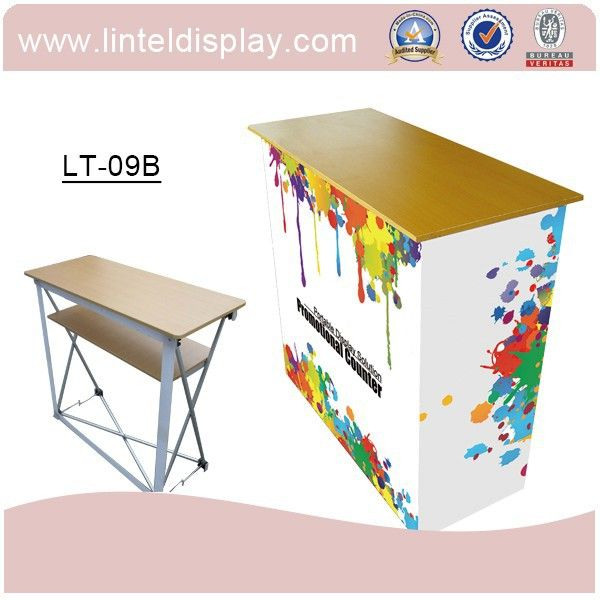 Trade Show Foldable Pop Up Portable Promoter Counter Display Lt-09b , Find Complete Details about Trade Show Foldable Pop Up Portable Promoter Counter Display Lt-09b,Portable Promoter Counter Display,Pop Up Display Table,Pop Up Promotion Counter from Display Racks Supplier or Manufacturer-Changzhou Lintel Display Co., Ltd.