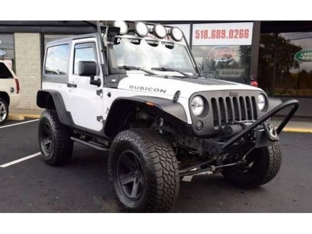 2012 Jeep Wrangler 4x4 Rubicon Hard Top 2dr