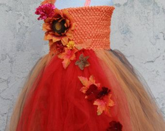 ThanksGiving tutu dress Fall Tutu dress by GlamliciousTutus                                                                                                                                                                                 More