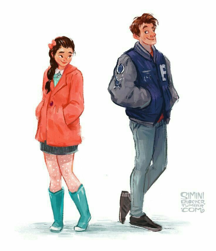 Fan art - To All The Boys I've Loved Before on We Heart It | Lara jean, Jenny  han books, Jenny han