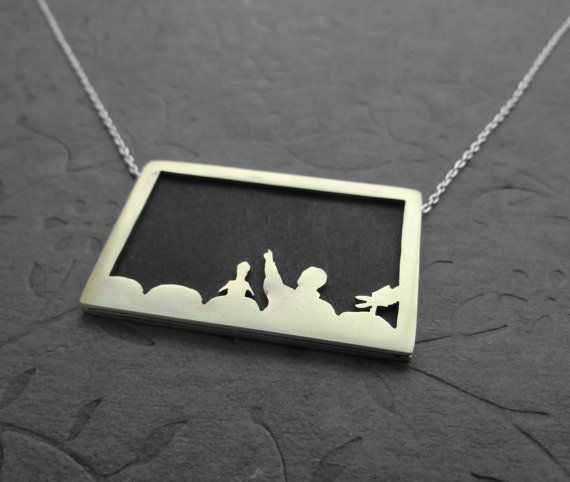 MST3K necklace!  and you can put your own picture in it!  $41.00