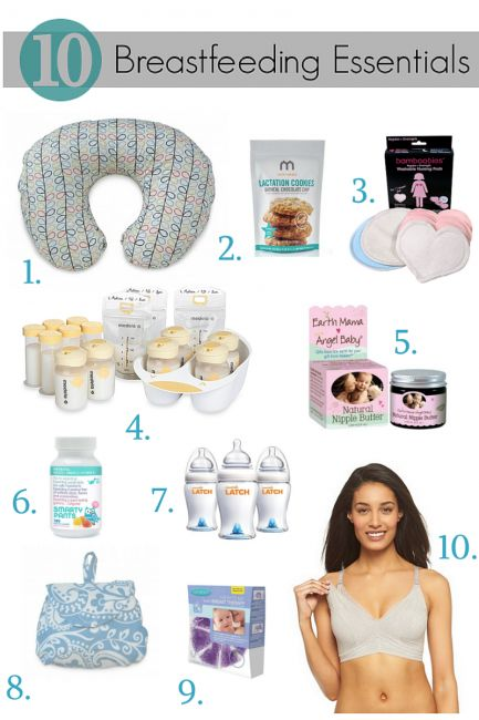 10 Breastfeeding Essentials Every Mom Needs via #BabyCenter