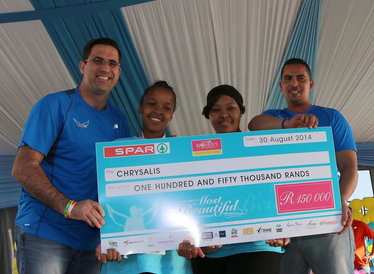 Funds raised for Chrysalis.