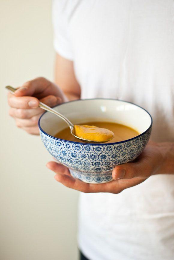 Red Lentil & Sweet Potato Soup