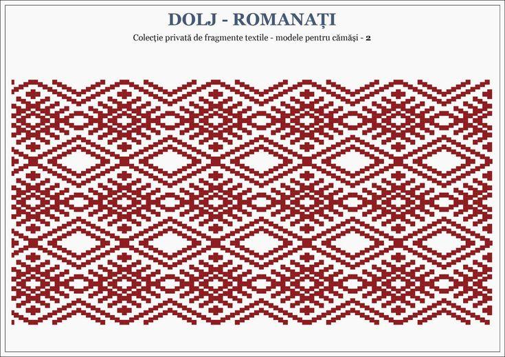Semne Cusute: romanian traditional motifs - OLTENIA - Dolj & Romanati