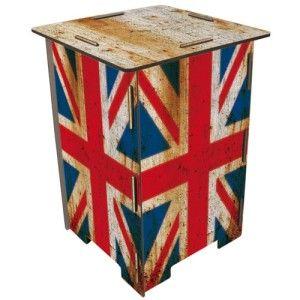 Hocker Britse vlag