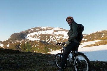 Bønntuva via tromsdalen ca 750 moh