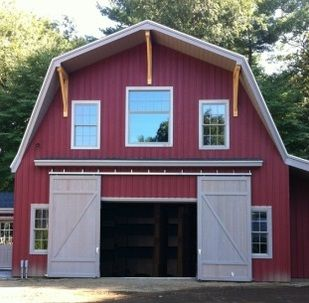 Open Sliding Barn Doors on SlidingDoorExperts.com - (With ...