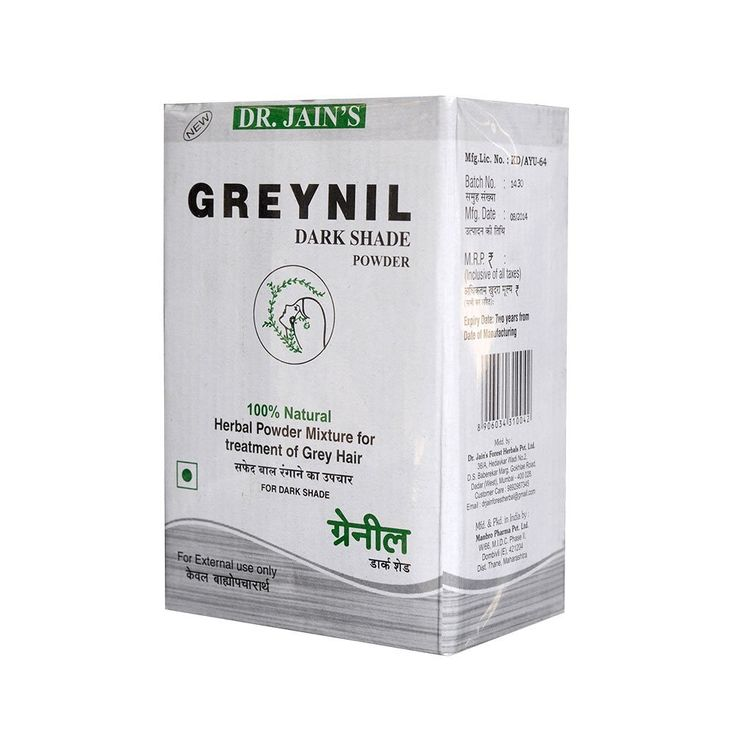 Dr. Jain's Greynil Dark Shade Herbal Hair Colour Treatment - 100g (Set of 4) * You can find out more details at the link of the image. #hairdo
