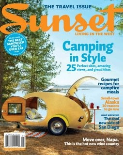 Sunset Magazine Camping in style