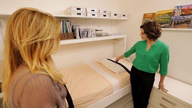 Boxmania no programa Santa Ajuda, GNT [Cama vira mesa em quarto que também funciona como escritório em casa - Santa Ajuda - GNT]