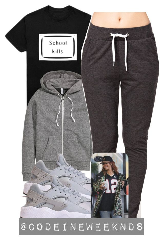 """9:1:15"" by codeineweeknds ❤ liked on Polyvore featuring H&M and Jacqueline De Yong"