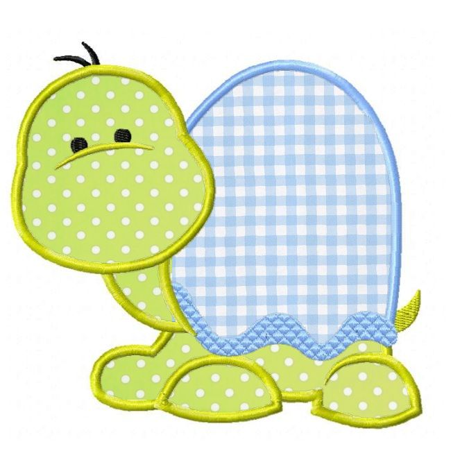 Sweet Turtle Applique [all of my appliques from Planet Applique stitch out great!]