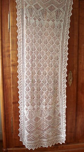 Free Knitting Patterns For Lace Curtains : 17 Best images about knit curtains on Pinterest Shawl, Ravelry and Knitting...