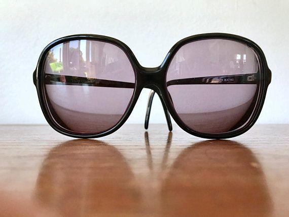 70's Oversized Eyeglasses – Black XLarge Eye Glass Frames – Prescription Eyewear Frames – 80's Oversized Sunglass Frames – Rachael's Shop SOLD Items