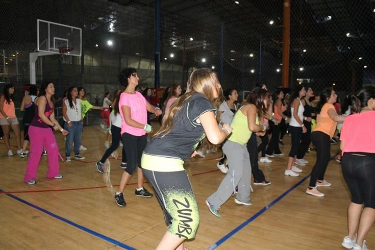 Zumba class celebrity fitness trainers