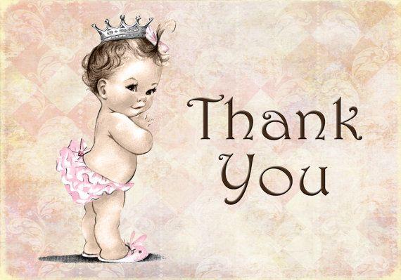 Vintage Baby Shower Invitation For Girl  Princess  by jjMcBean, $5.00
