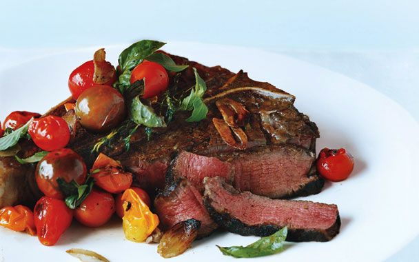 how to cook porterhouse steak pan