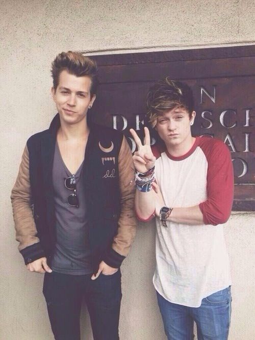 James  and Connor
