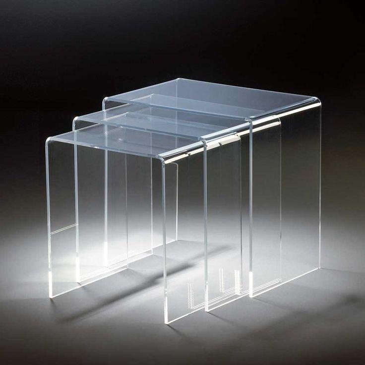 Beistelltisch Set Aus Acrylglas Modern 3 Teilig Jetzt Bestellen Unter Moebelladendirektde Wohnzimmer Tische Satztische Uidc94e6f75 D5e3 5e13