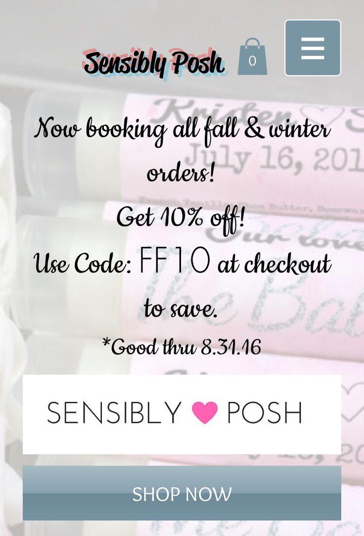 16 best Sensibly Posh Lip Balm-Wedding Favors SensiblyPosh.com ...