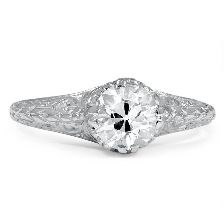 Triple Diamond Ring in Metallic Gold ERTH Z6K12Hm