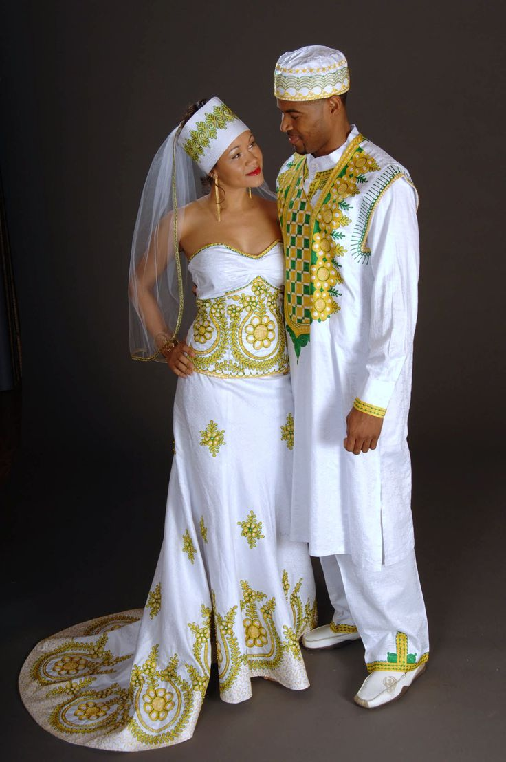 17 Beautiful African Wedding Dresses