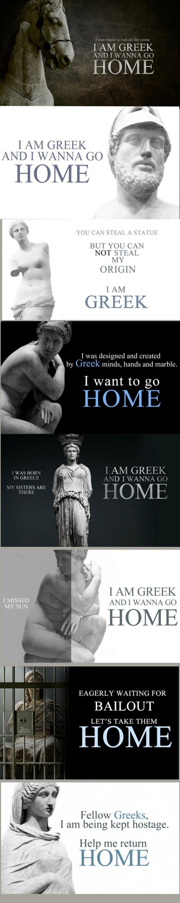 I am GREEK and I want to go HOME!