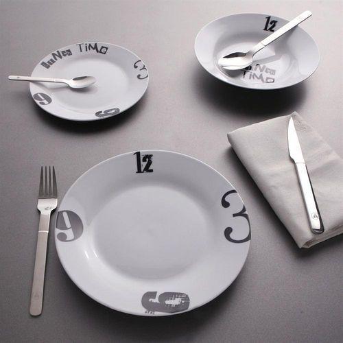 Service Porcelaine 18 pièces Lunch Time : en vente sur RueDuCommerce