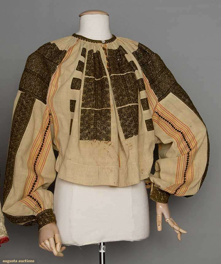 Romanian blouse 19th C