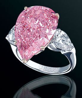 Rosamaria G Frangini | High Pink Jewellery | Fancy Vivid Pink Diamond Ring