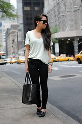 Isabel Marant T Shirt, Urban Outfitters Jeans